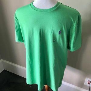 NWT Polo Ralph Lauren green tshirt